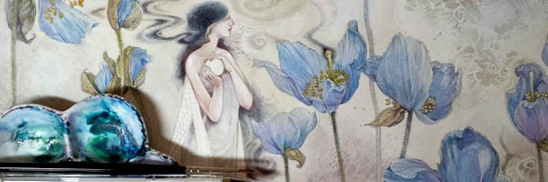 Descants watercolor art by Stephanie Law