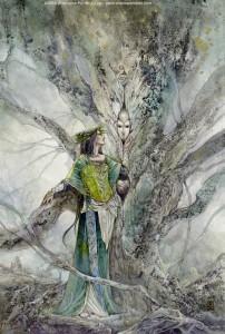 Hawthorn Embrace - Nimue & Merlin - arthurian legend