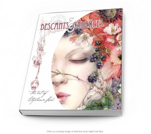 Descants and Cadences a new art book by Stephanie Law